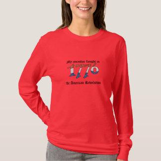 Camiseta Antepassado lutado na Revolução Americana