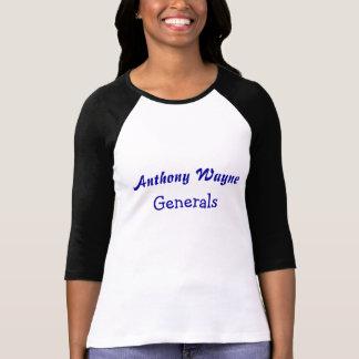 Camiseta Anthony Wayne, generais