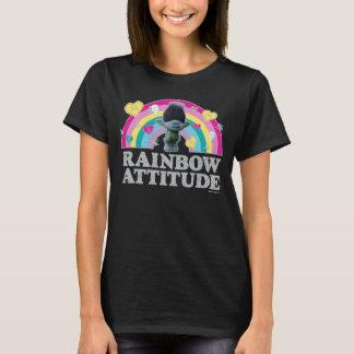 Camiseta Anti-Arco-íris do ramo dos troll |