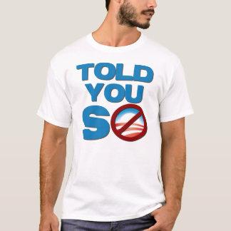 Camiseta Anti Barack Obama