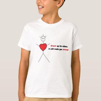 Camiseta Anti-Intimidação T para miúdos