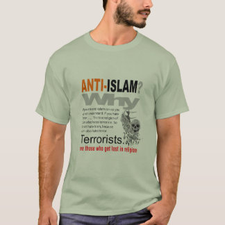 Camiseta Anti Islão? T-shirt