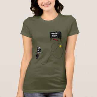 Camiseta Anti lavagem do cérebro da tevê!