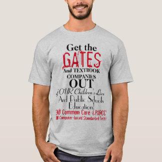 Camiseta Anti portas do núcleo comum