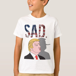 Camiseta Anti presidente sarcástico engraçado Donald Trump