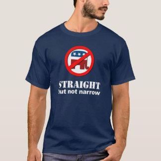 Camiseta Anti republicano - hetero mas não estreito