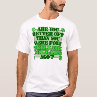 Camiseta Anti t-shirt da despesa