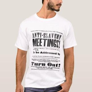 Camiseta Anti t-shirt da escravidão