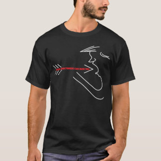 Camiseta Anti t-shirt do trunfo - sua própria língua pode