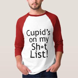 Camiseta Anti t-shirt dos Anti-Namorados do Cupido