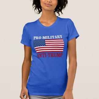 Camiseta Anti-Trunfo Pro-Militar - Anti-Trunfo - -