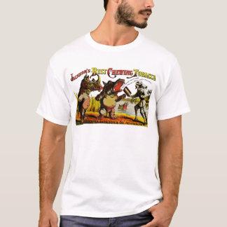 Camiseta Anúncio 1871 do tabaco de mastigação do vintage