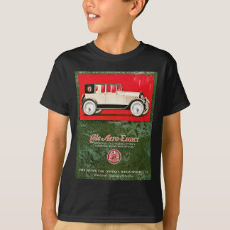 Camiseta Anúncio aero-Oito do carro vintage do Cole