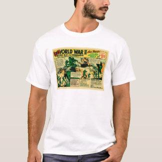 Camiseta Anúncio cómico do brinquedo do vintage do kitsch