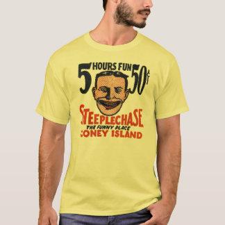 Camiseta Anúncio do cobrir do Matchbook de Coney Island do