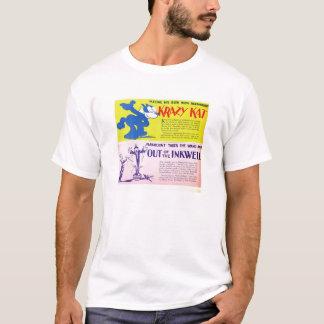 Camiseta Anúncio do expositor do filme silencioso de Krazy