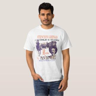Camiseta Anúncio do recrutamento de Pancho Villa do vintage