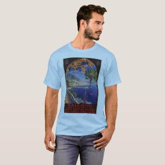 Camiseta Anúncio do viagem do verão do vintage de Salerno