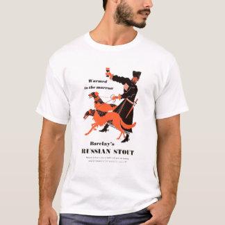 Camiseta Anúncio robusto do russo de Barclays