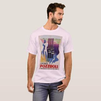 Camiseta Anúncio romano do viagem de Italia da cidade do