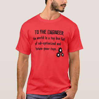Camiseta Ao engenheiro