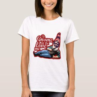 Camiseta Ao gnomo é amar-me