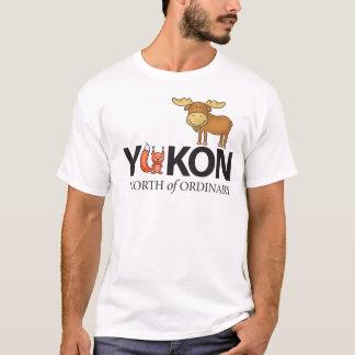 Camiseta Ao norte do design Foxy ordinário dos alces