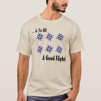 Camiseta Ao todo o um bom vôo!