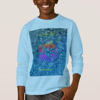 Camiseta aotearoa da vida do oceano