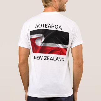 Camiseta Aotearoa Nova Zelândia da bandeira de Tino