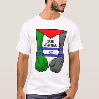 Camiseta Apartheid do israelita de Carlos Latuff-