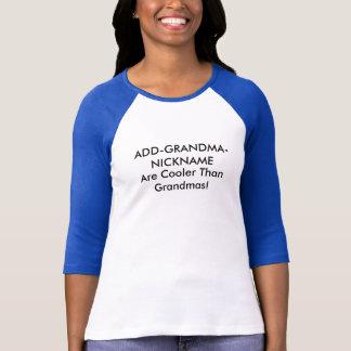 Camiseta Apelido customizável da avó