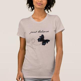 Camiseta Apenas acredite o t-shirt com adolescentes das