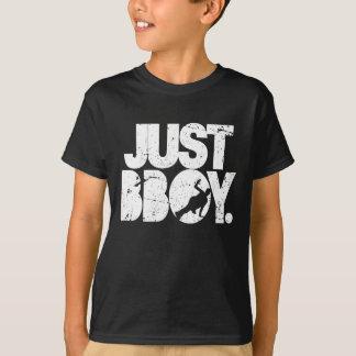 Camiseta apenas bboy - branco afligido