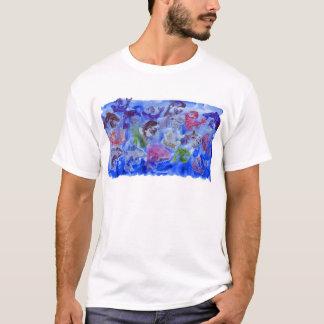 Camiseta Apenas carimbo da pintura do açúcar dos golfinhos