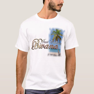 Camiseta Apenas chame-me Bwana