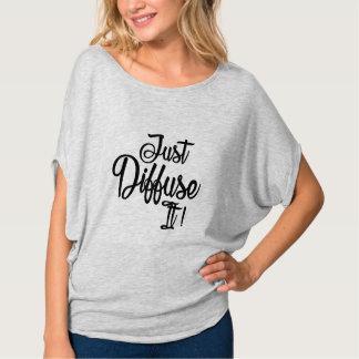 Camiseta Apenas difunda-o!