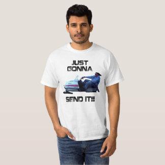 Camiseta Apenas indo enviar-lhe Larry engraçado o t-shirt