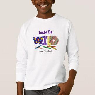 Camiseta Apenas o t-shirt do miúdo selvagem