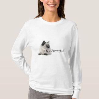 Camiseta Apenas Purrrrrfect!