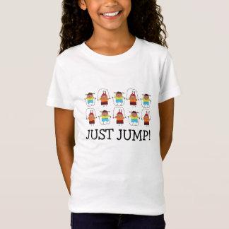 Camiseta Apenas salte o t-shirt da menina