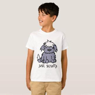 Camiseta Apenas t-shirt desalinhado do cão dos desenhos