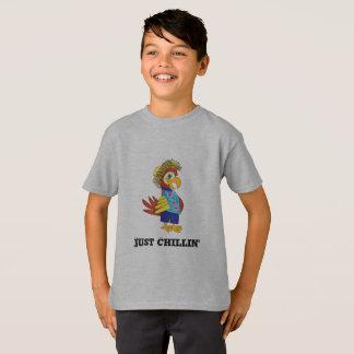Camiseta Apenas t-shirt do papagaio da ilha de Chillin