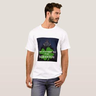 Camiseta Apenas um miúdo Scrappy do t-shirt de Scranton