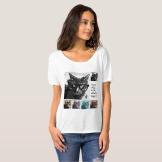 Camiseta Apenas uma senhora… é o gato que é louco!!