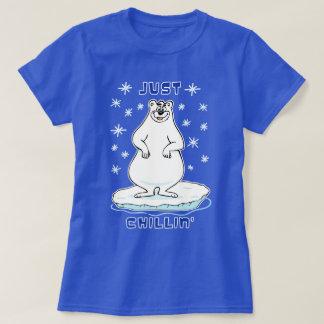Camiseta Apenas urso polar de Chillin