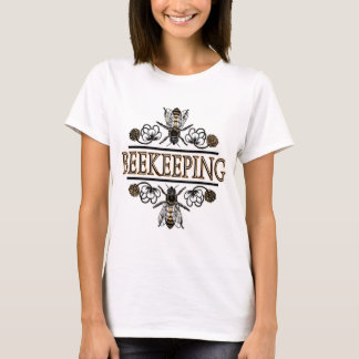 Camiseta apicultura com abelhas de trabalhador