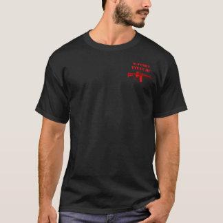 Camiseta Apoie a espinha dorsal de MC M4 dos veterinários