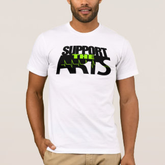 Camiseta Apoie as artes
