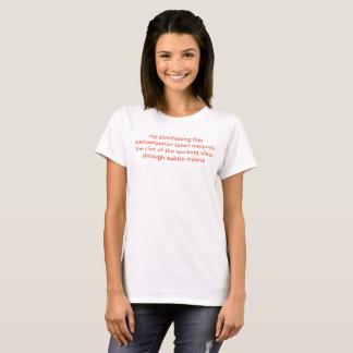 Camiseta apoie-nos